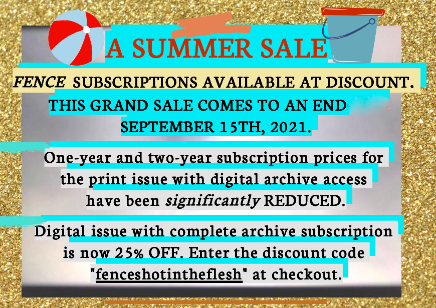 FENCE 2021 Summer Sale